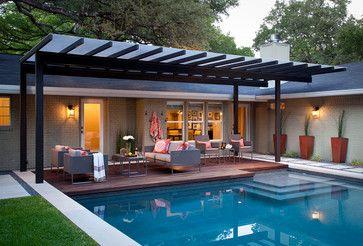 Modern Pergola Design Ideas Pictures Remodel And Decor Backyard Seating Pergola Patio Modern Pergola