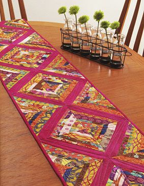 Find This Pin And More On Table Runners. Additional Images Of A Modern Twist  ...