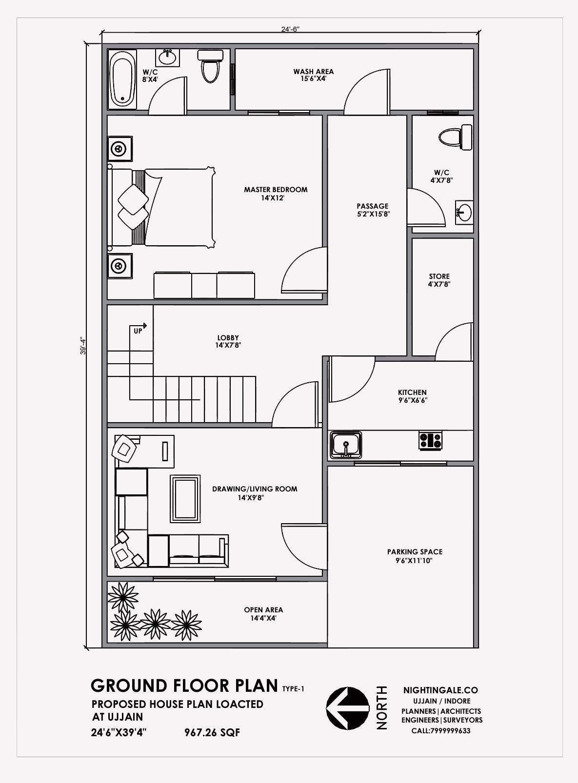 15 House Design Ground Floor Plan In 2020 20x30 House Plans Indian House Plans 20x40 House Plans