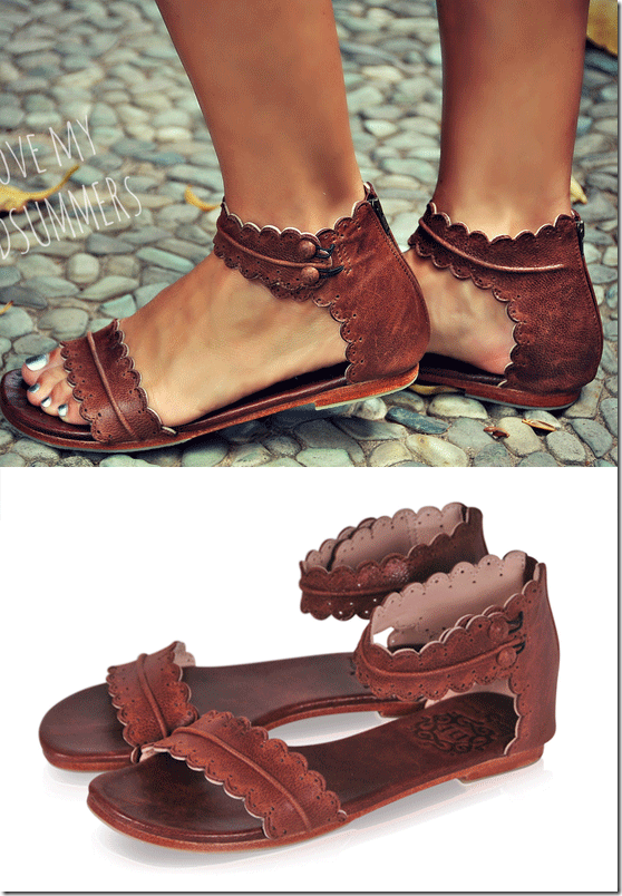 Fashionista Now Bali Elf Handmade Leather Summer Sandals