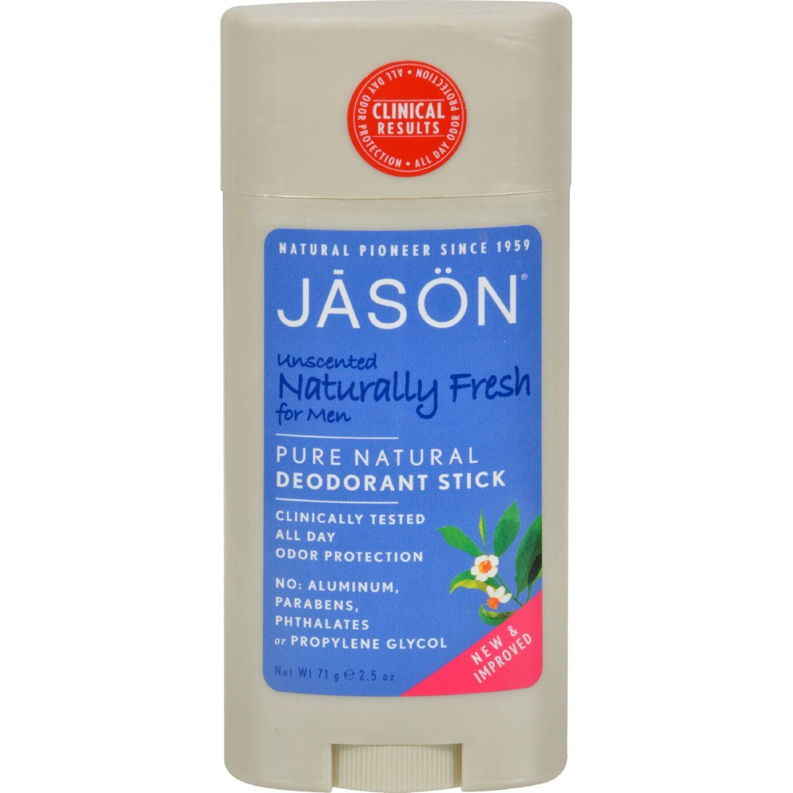 Jason Deodorant Stick For Men Naturally Fresh   Oz  Products