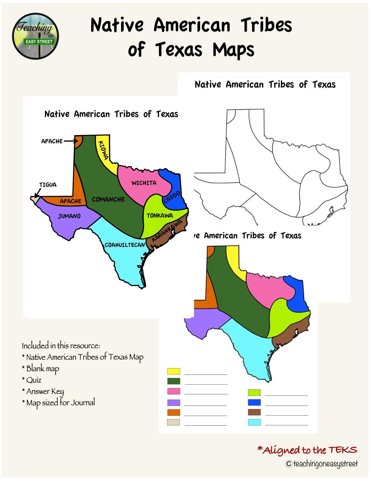 Texas History Native Americans