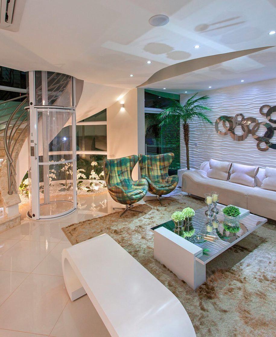 Finalizando o sábado com muita inspiração! Living by Kilaris. Amei Me encontre também no @pontodecor  Snap:  hi.homeidea  http://ift.tt/23aANCi #bloghomeidea #olioliteam #arquitetura #ambiente #archdecor #archdesign #hi #cozinha #sabado #homestyle #home #homedecor #pontodecor #iphonesia #homedesign #photooftheday #love #interiordesign #interiores  #picoftheday #decoration #world #varandagourmet  #lovedecor #architecture #archlovers #inspiration #project #regram #outubrorosa