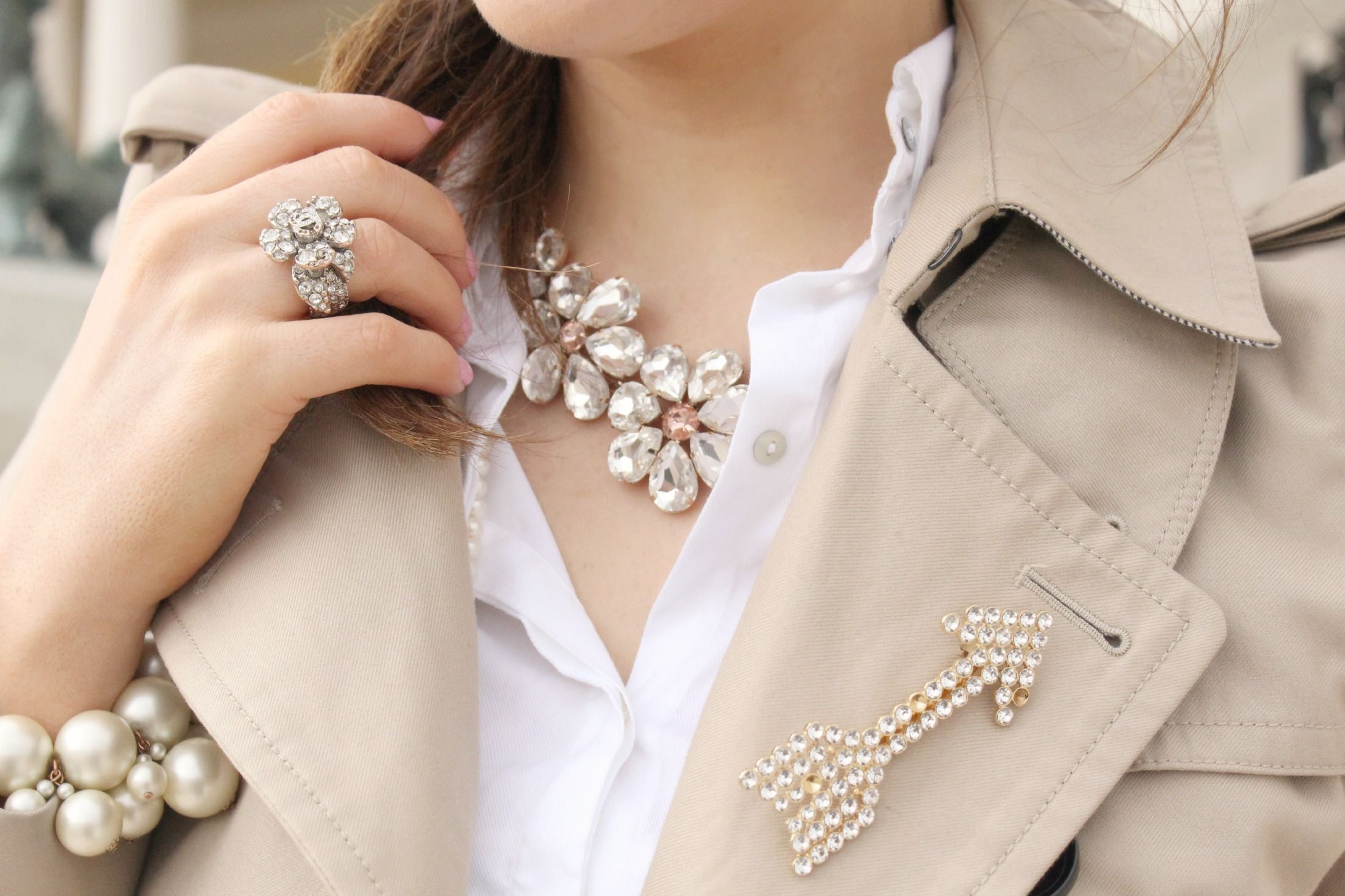 Jewellery #pearls #crystals #accessories