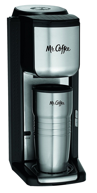 Mr. Coffee Grind n Brew Coffeemaker with BuiltIn Grinder