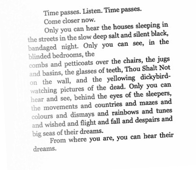 Dylan Thomas- under milk wood. Fantastic witty intelligent and mesmerising