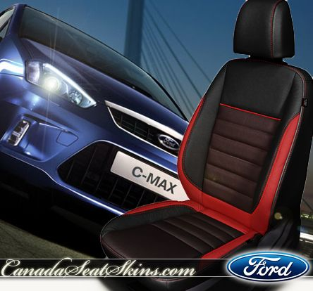 Ford C Max Limited Edition Leather Interior Three Tone Design Canadaseatskins Com Leatherseats Ford Cmax Ford Interior Leather Seat Leather Interior