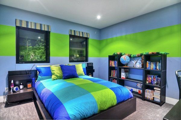 cool teenage bedroom ideas for boys wall colors boys bedroom ...