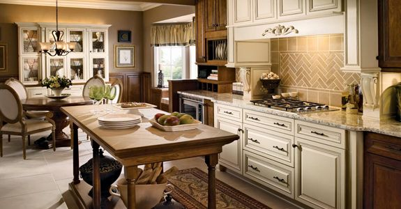 Best Kraftmaid Arlington Cherry In Chocolate And Maple In 640 x 480