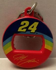 (TAS003352) - Nascar Die-Cast Bottle Opener Keychain Jeff Gordon #24 Dupont
