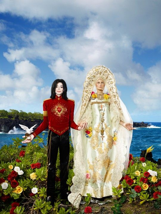 """LIVE! L'arte incontra il rock"", a Prato DAVID LACHAPELLE: Michael Jackson - The Beatification – DaringToDo.com"