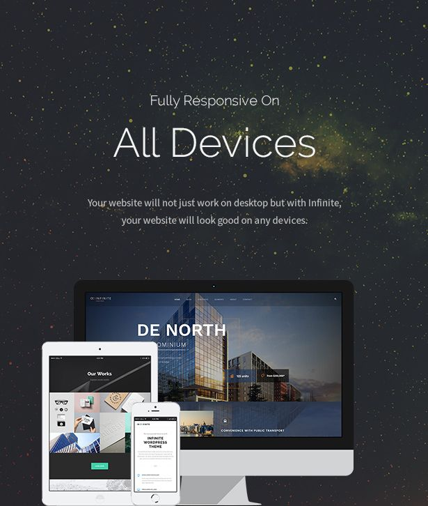 Infinite - Responsive Multi-Purpose WordPress Theme | Pinterest
