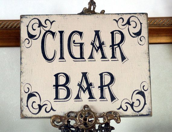 vintage cigar bar signs - Google Search