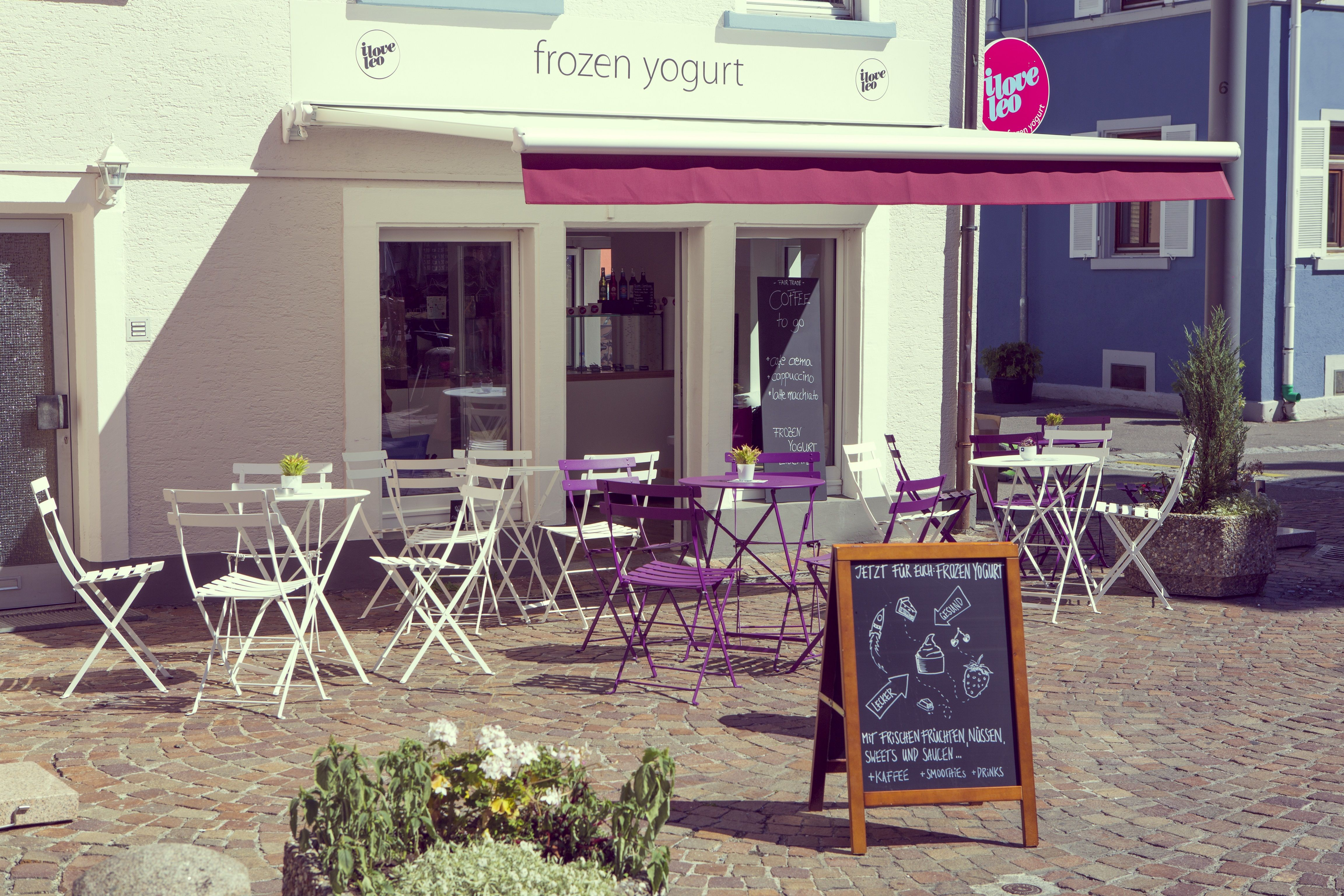 Frozen Yogurt - Shop - Interior Design - Konstanz - Fassade - Studio ...