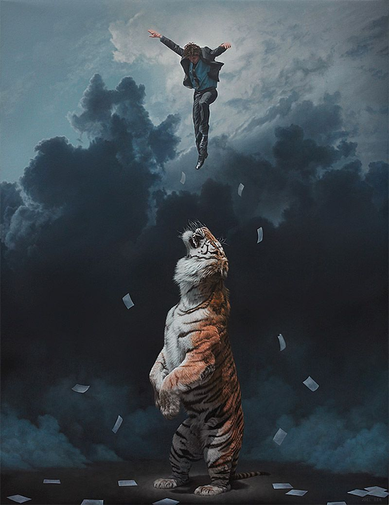 Surreal Paintings by Joel Rea | Define postmodernism, Postmodern art ...