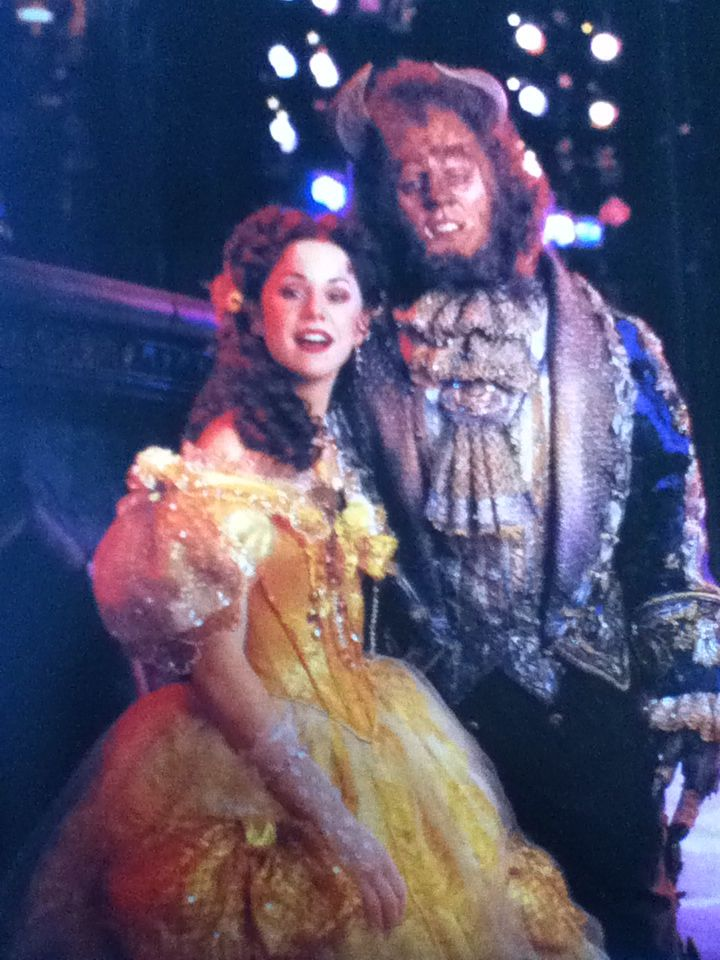 Terrence Mann Beast >> Susan Egan And Terrence Mann In Beauty And The Beast On