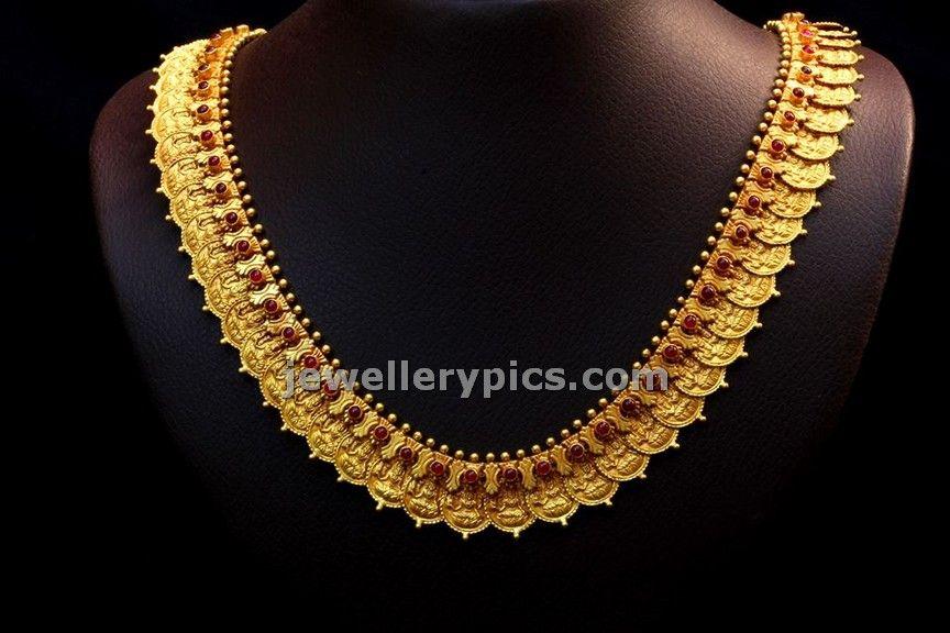 a14de4269 BHima jewellers temple necklace collection - Latest Jewellery Designs