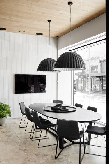 Un salle à manger moderne design d\u0027intérieur, décoration, salle à
