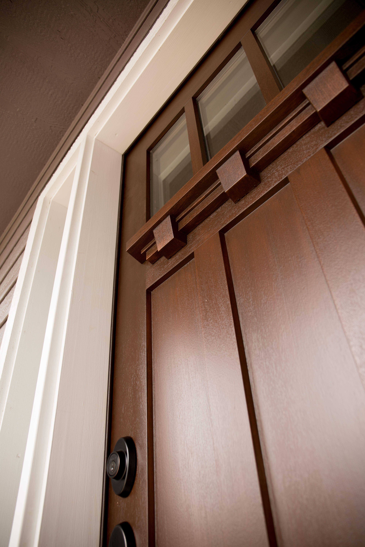 Exterior Door Acclimated Entry System Including Fir Fiberglass