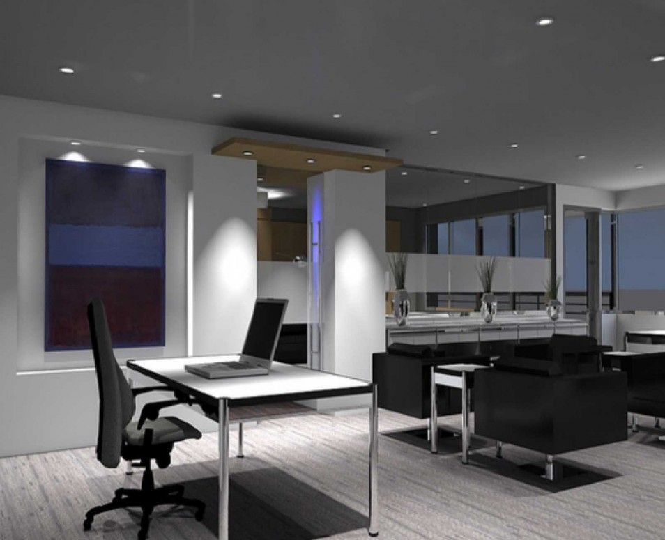 Modern Office Design, Modern Home Office Furniture, Contemporary Office,  Office Space Design,