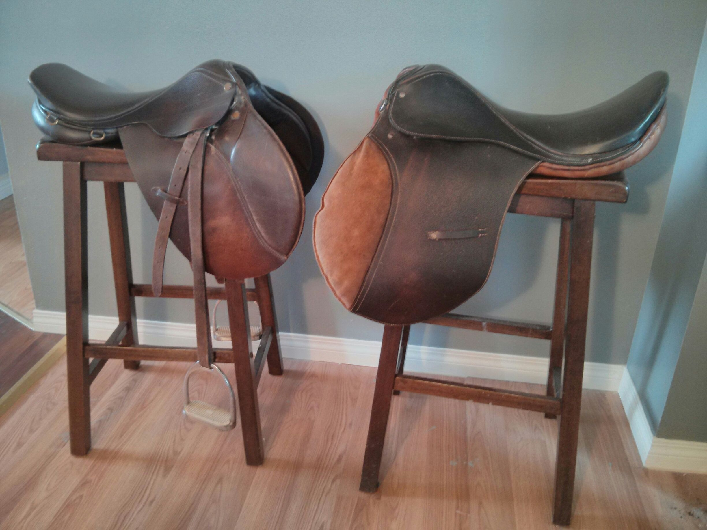 horse saddle seat chair hanging tutorial english bar stools horses in your home 2019