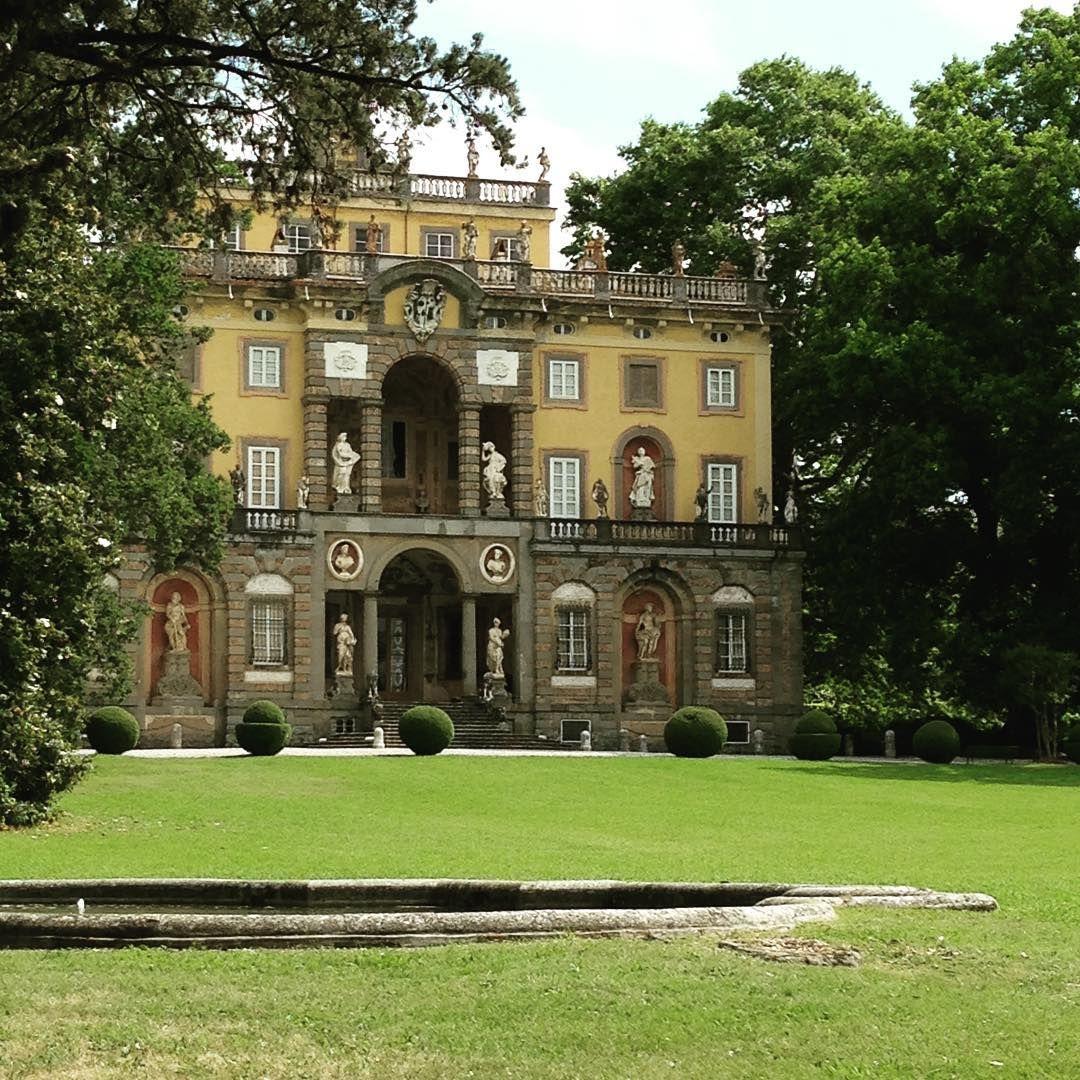 Villa Torrigiani tuscany italyholidayshistory garden Garden