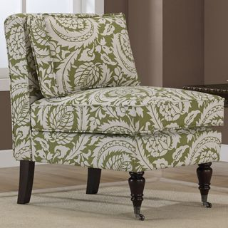 Beau @Overstock   Cassidy Olive Floral Armless Chair. Add An Elegant Extra  Seating Option To Your Living Room With This Beautiful Armless Accent Chair.