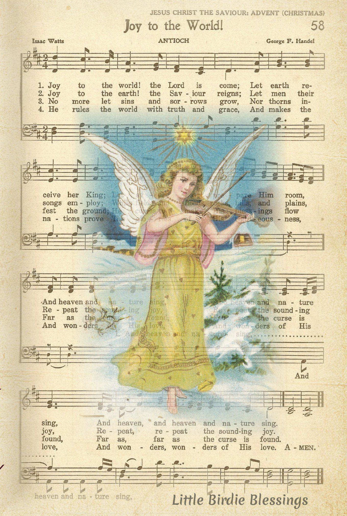 Joy To The World | Hymns of praise, Joy to the world, Hymn music