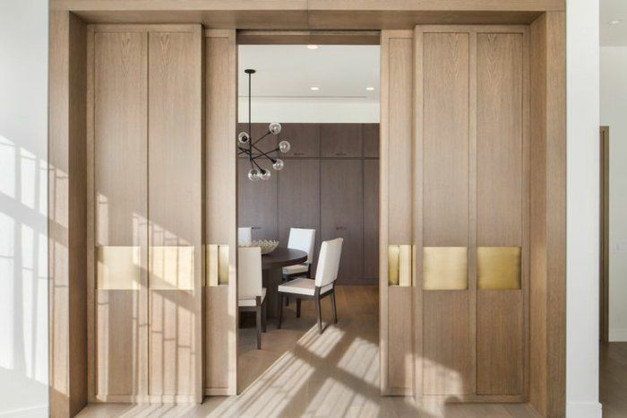 Découvrir la porte à galandage en beaucoup de photos Salons and Doors