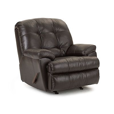 Simmons 174 Manhattan Faux Leather Recliner At Big Lots