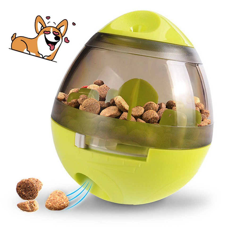 Iq Treat Ball Interactive Food Dispensing Dog Toy Dog Puzzle Toys