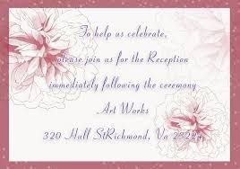 Image result for romantic wedding invitation wording from bride and groom