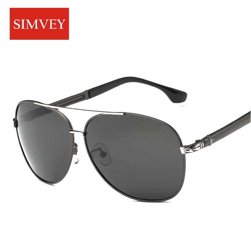 d29d00485a5 Simvey 2017 Fashion Vintage Polarized Sunglasses Brand Designer Mens  Aluminum Driving Sun Glasses Goggles Luxury Shades