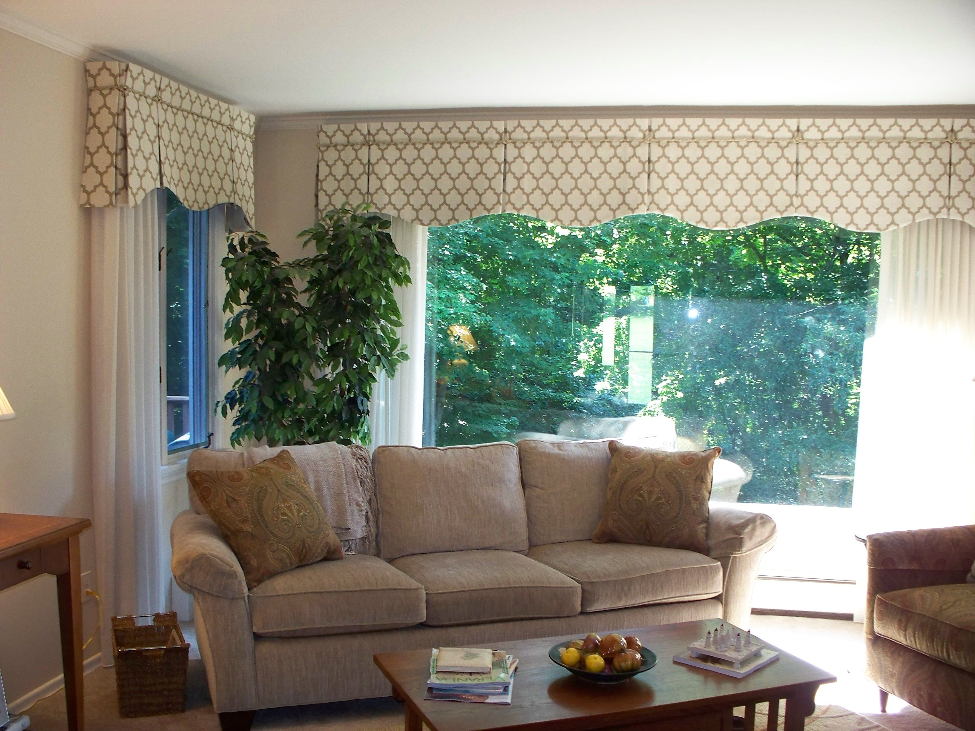 Box Pleated Valances You Have To Zoom In To See The