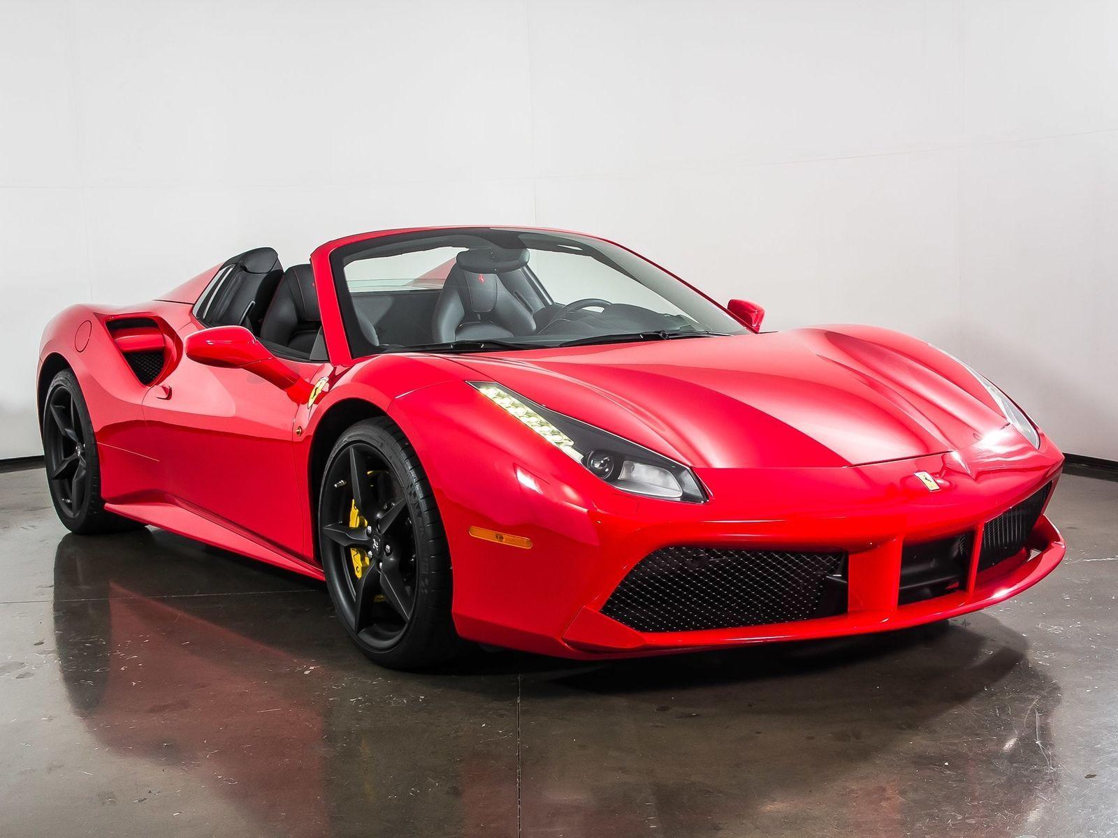 488 2016 Ferrari 488 Spider Only 1 098 Miles Rosso Corsa Convertible 329 900 00 329900 00 Cars Trucks Ferrari Price Ferrari