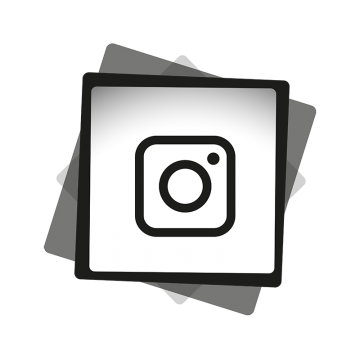 Instagram Black White Icon, Ig Icon, Instagram Logo