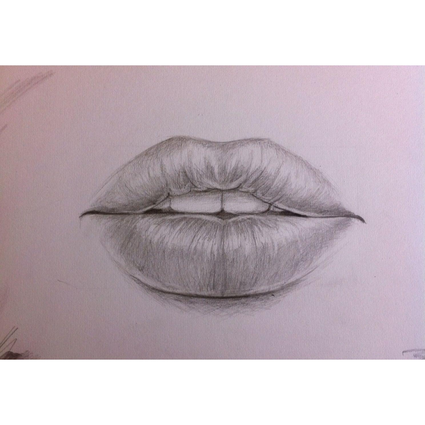 Pencil drawing of lips art scratchboard art pencil drawings
