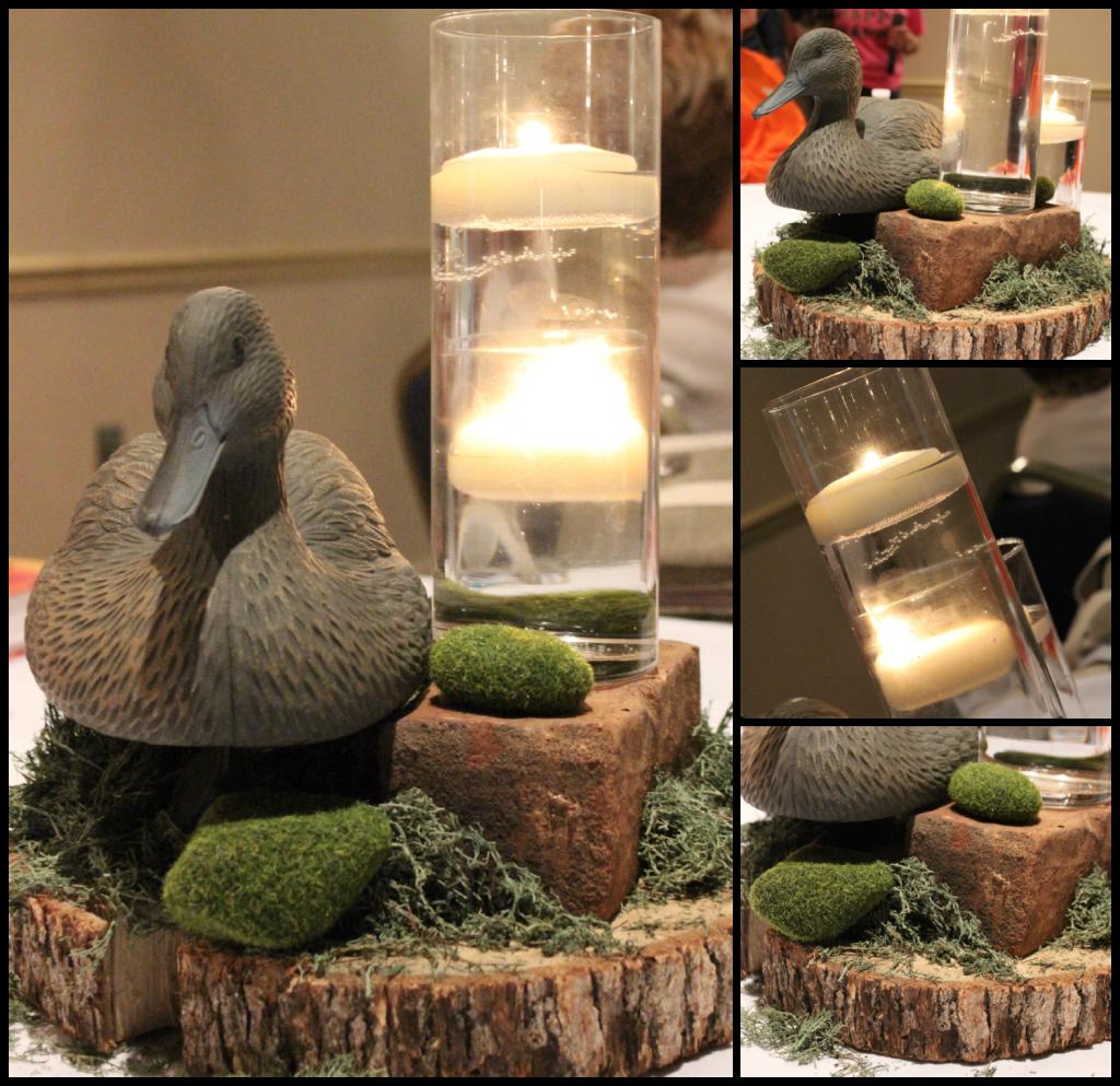 Ducks Unlimited Home Decor: Duck Dynasty Centerpiece