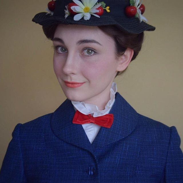 DIY Mary Poppins Costume | maskerix.com  sc 1 st  Pinterest : mary poppins costume idea  - Germanpascual.Com
