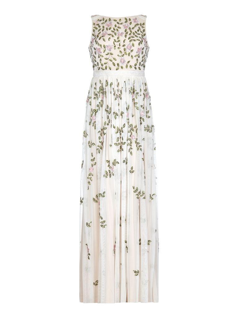 Adrianna Papell Beaded Long Dress Harvey Nichols Dresses Occasion Wear Dresses Long Dress [ 1024 x 768 Pixel ]