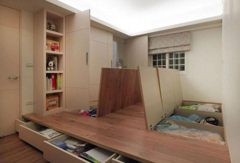 40 Unordinary Hidden Storage Ideas For Small Space Small Spaces