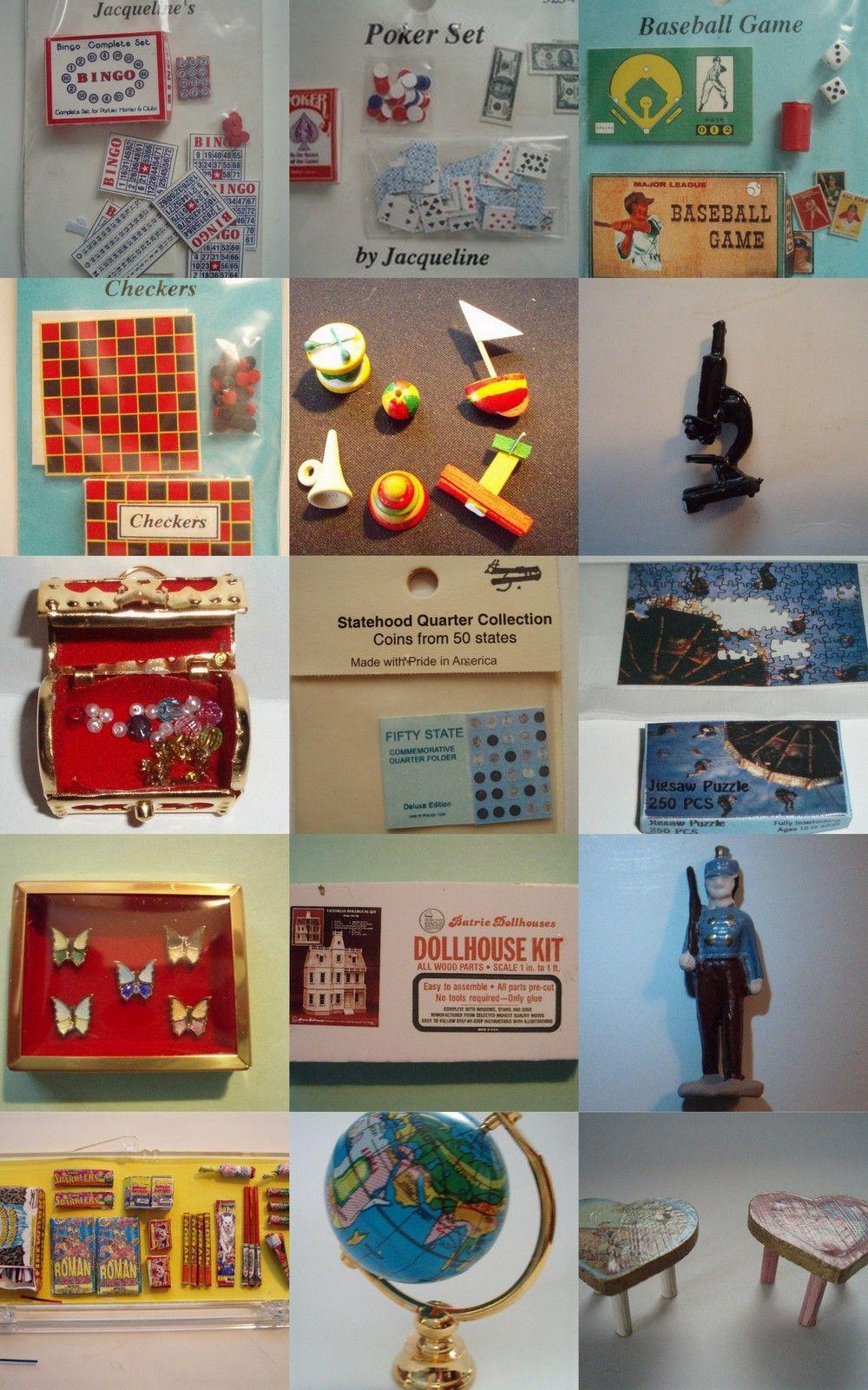 Dollhouse Games & Toys