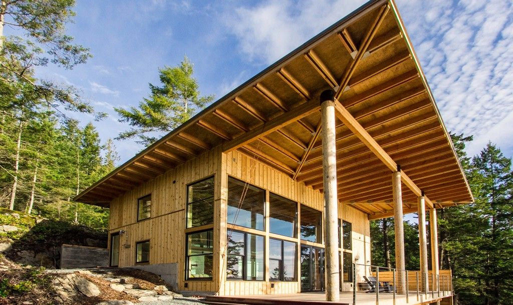 Orcas Island Cabin, San Juan Islands, Washington, USA U2013 By Johnston  Architects