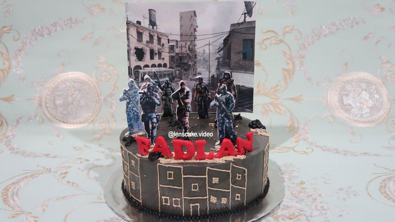 15 How to Decorate Birthday Cake for Boy Cross Fire   Cara Menghias Kue Ulang Tahun Anak Laki la...