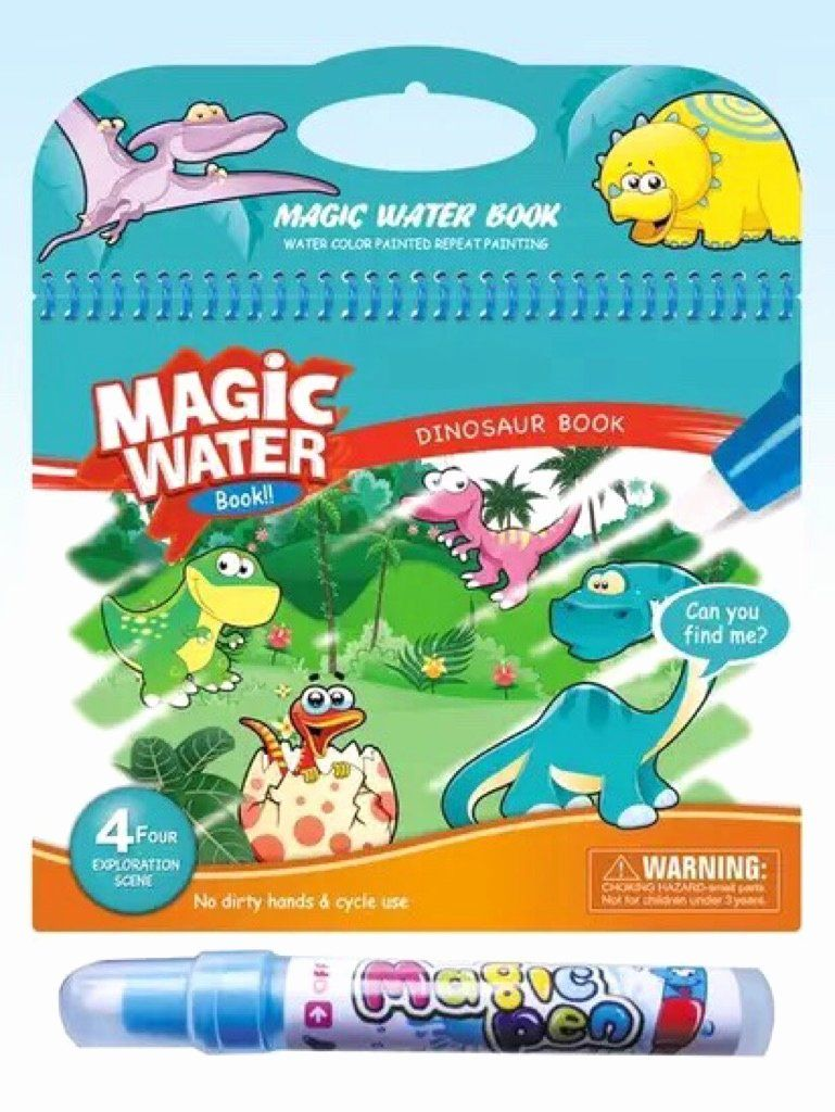 Coloring Book With Water Pen Luxury Magic Water Colour Book Coloring Books Books Color