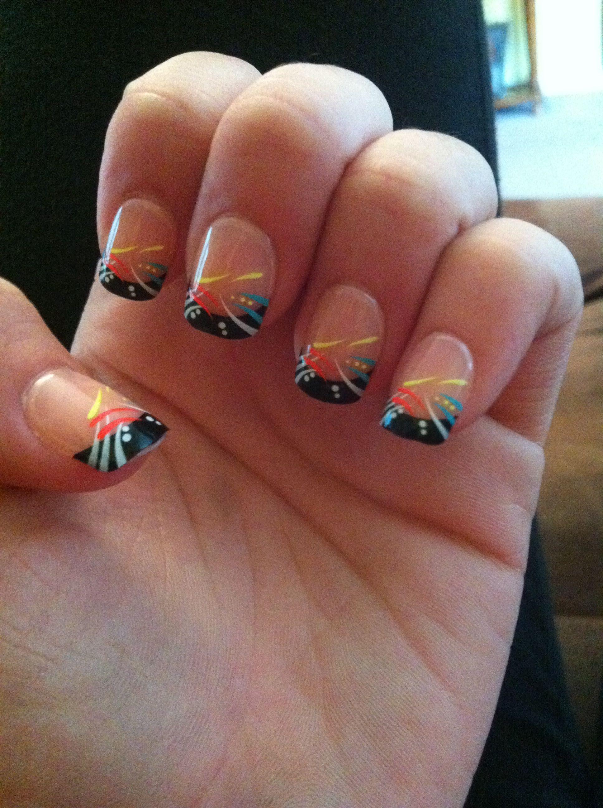 Nails nailart cute nails love pastel rainbow purple long