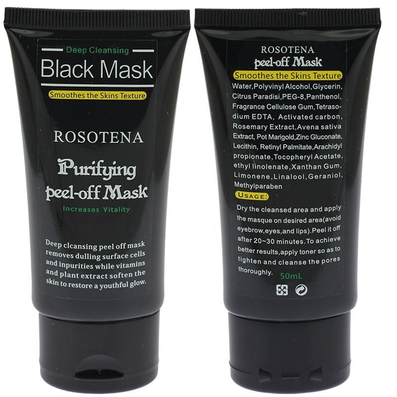 2X Blackhead Remover Deep Cleansing Purifying Acne Back Mud Face Mask Treatment #Unbranded