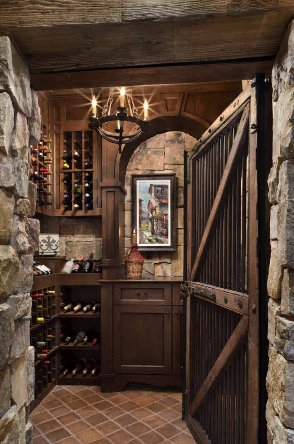 Fabulous Rustic Ranch Home In Nevada By Locati Architects Home Wine Cellars Wine Cellar Design Wine Cellar Basement