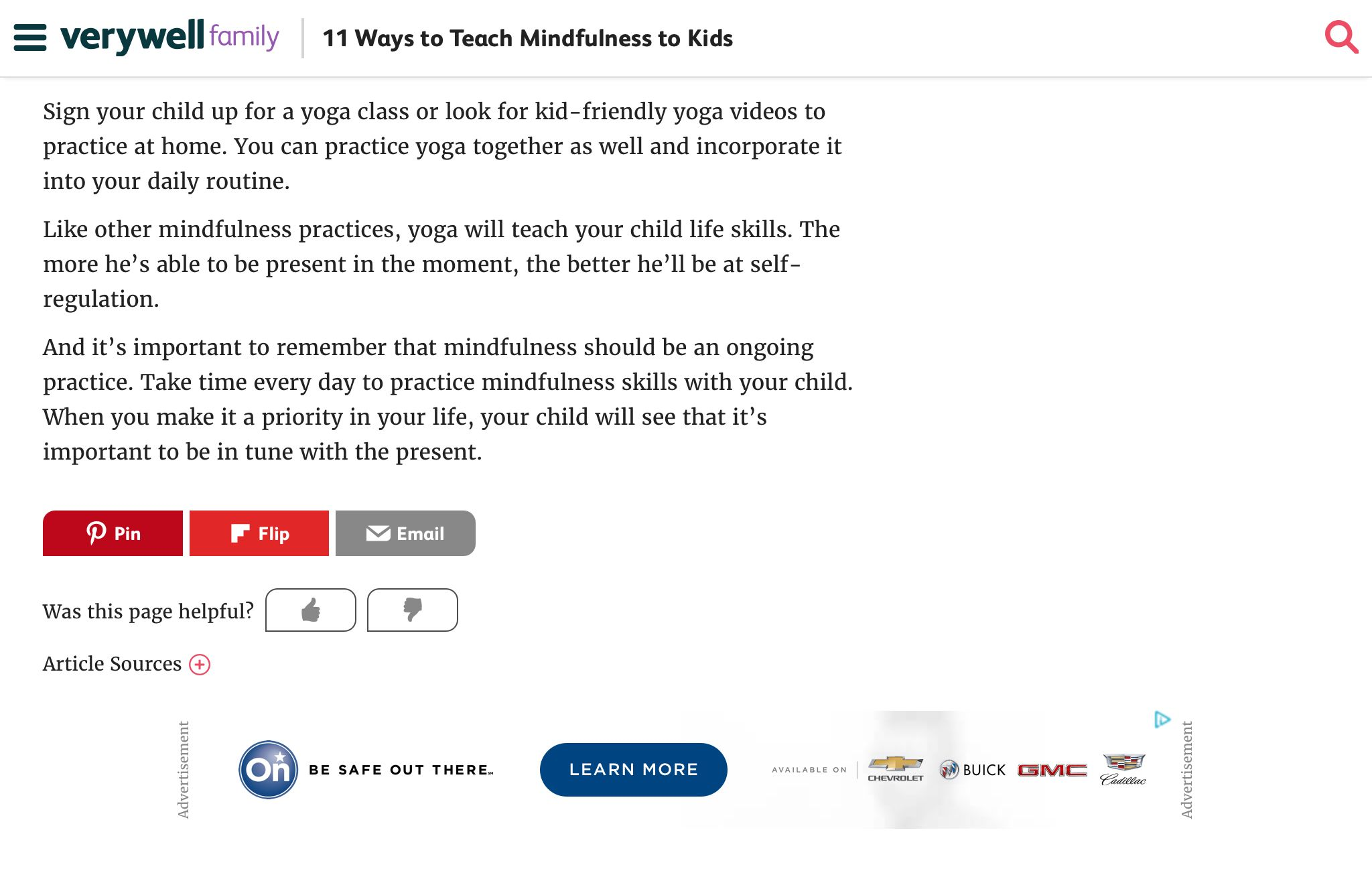 Https Www Verywellfamily Com Ways To Teach Mindfulness To Kids