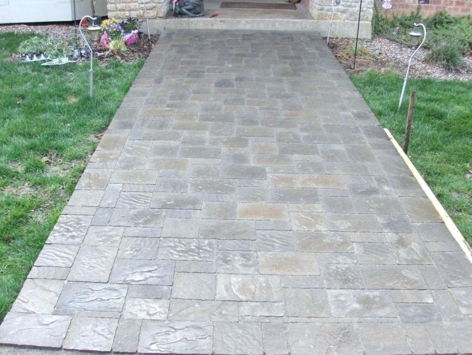 Brick Paver Patio Calculator Brick Walkway Calculator Patio Cost Of Gr Concrete For To Install Calculator Pa In 2020 Flagstone Pavers Brick Paver Patio Diy Stone Patio